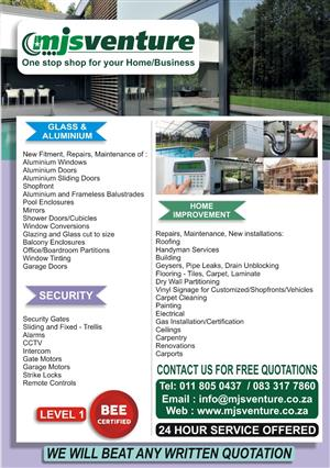 One Stop Shop for your Home / Office