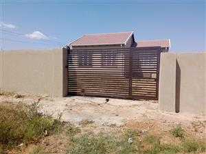 Alone standing Home is available in Chif Mogale Kagiso to LET close to Shoprite centre