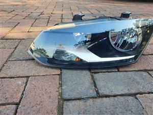 VW, Polo 6, Headlight