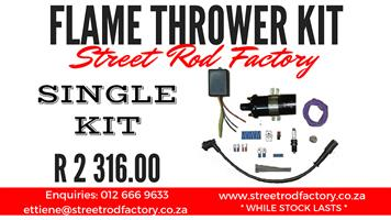 FLAME THROWER KIT DUAL or SINGLE