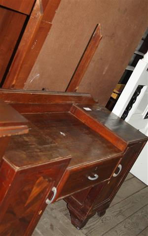 S034185A Brown dressing table #Rosettenvillepawnshop