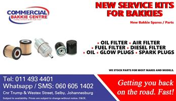 filters new for bakkies