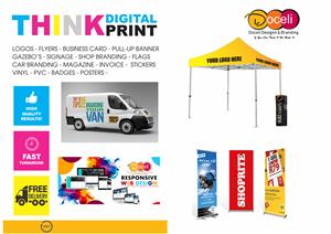 Pull up Banners & Business Cards
