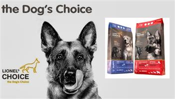 Lionel's Choice premium dog food available at PETS4LIFE BRACKENFELL