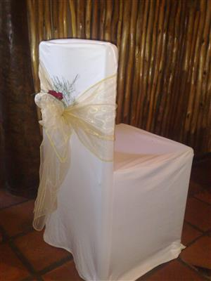 LIBRA CREATIONS: Table Cloths, Chair Covers, Overlays, Table Runners, Chair Tie-Backs