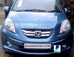 Honda Brio Amaze 1.2  iVTEC - 5 speed Manual Stripping for spares / parts