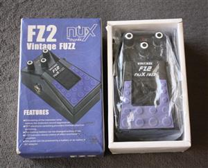 Nux FZ-2 Vintage Fuzz Guitar Effects Pedal