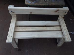KIDS WOODEN BENCHES