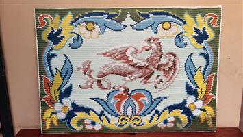 Lovely old dragon tapestry.