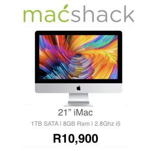 Apple iMac 21-inch 2.8GHz Quad-Core i5 (1TB SATA Disk, Silver) - Pre Owned