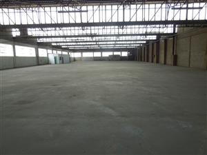 2500m² Factory/Warehouse to let in the heart of Heriotdale