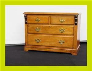 Antique Mahogany Chest of Drawers - SKU 168
