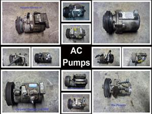 AC pumps for sale for most vehicle makes and models.