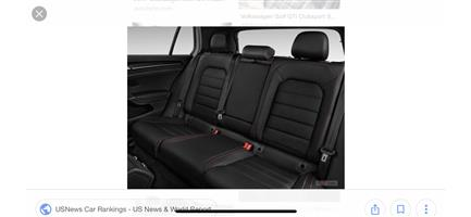 We have leather seats avilable golf 7 gti
