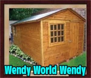 WENDYS - Log, Knotty pine & Paving
