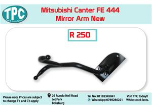 Mitsubishi Canter FE 444 RH/LH Mirror Arm New for Sale at TPC