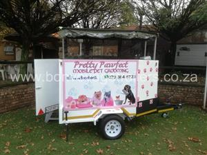 DOG PARLOUR TRAILER FOR SALE