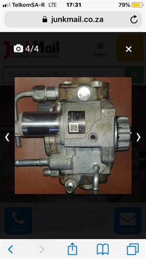 Fuel pump for a d4d