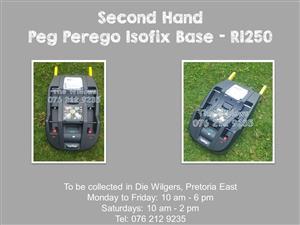 Second Hand Peg Perego Isofix Base
