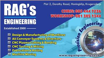 Rag's Engineering