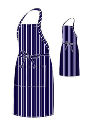 CHEFS UNIFORM FULL BIB APRON