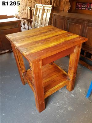 Oregon Pine Butchers Block (750x750x920)