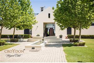 Vacant plot is available in prestigious Croydon Vineyard Estate.