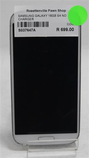 Samsung galaxy 16gb S4 no charger S037647A #Rosettenvillepawnshop