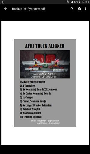 Afri Truck Aligner