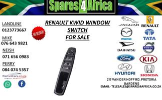 RENAULT KWID WINDOW SWITCH