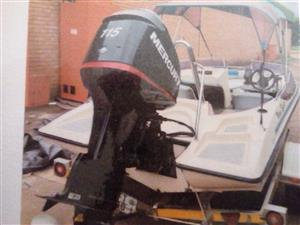 Maimi Sport Boat 19ft. 115 Mercury OptiMax