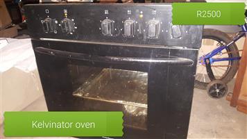 Kelvinator eye level stove and oven