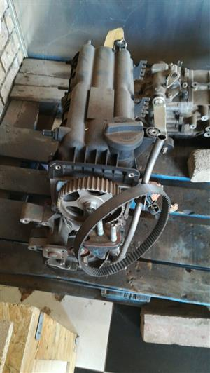 STRIPPING FOR SPARES *HEAD - BLOCK  SUMP - HY036 HYUANDAI I10 (G4HG)*