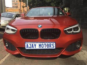 2018 BMW 1 Series 120d 5 door M Sport sports auto