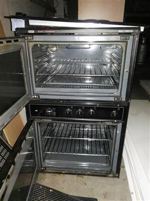 Stove and Double Eye Level Oven