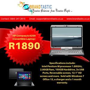 HP Compaq tc4200 (Covertible Laptop) @ R1890