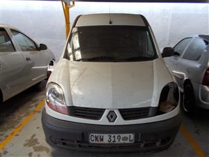 RENAULT KANGOO 1.5 DCI STRIPPING FOR SPARE PARTS