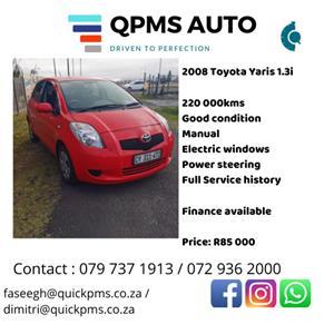 2008 Toyota Yaris hatch YARIS 1.5 Xi 5Dr