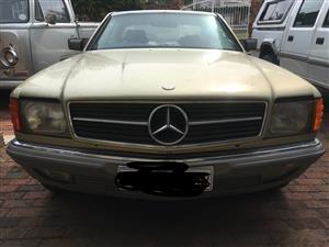 1982 Mercedes Benz 380SEC