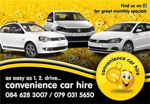 Affordable car rental service in Johannesburg