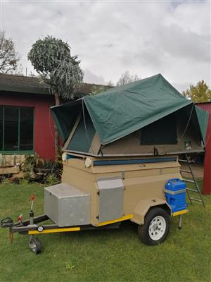 Challenger camping trailer for sale or swap