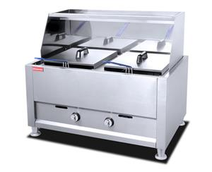 HEF 906C TWO TANK ELECTRIC FRYER
