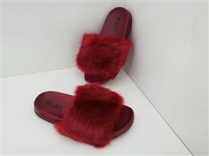 Blake Fur Sandals