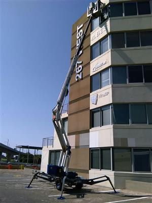 VerticalZA Cherry Picker Dino 210T - 21m, PORTABLE TRAILER-MOUNTED Manlift