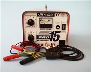 Battery Charger Hawkins Pro 15 – Pro 15 6V/12V/24V