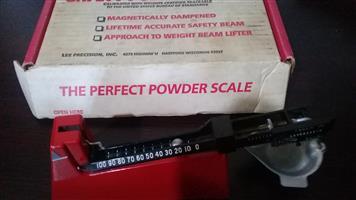 Lee powder scale