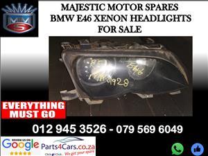 Bmw E46 xenon headlights for sale
