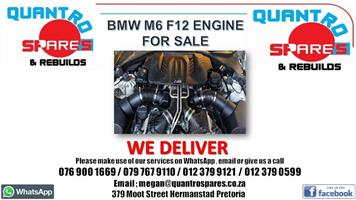 Bmw m6 f12 engine for sale