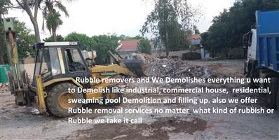Byilding rubble