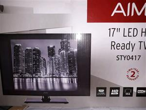AIM flat Led TV 17""